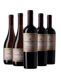 Pack 6 vinos mix, Reserva...