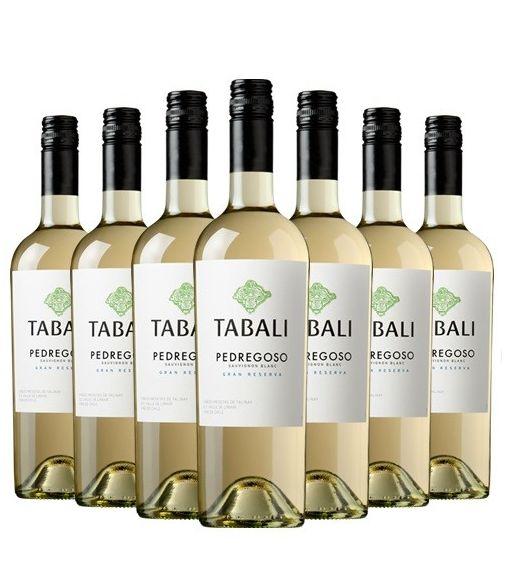 Pack 12 Sauvignon Blanc, Gran Reserva, Pedregoso, Tabali
