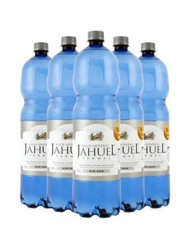 Pack 6 Agua Mineral Sin Gas Jahuel 1.6 Lts