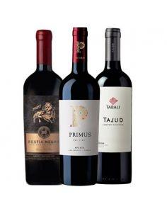Pack Vinos Bestia Negra, Veramonte y Tabalí