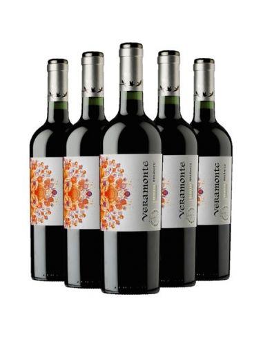 Pack 6 vinos Carmenere, Reserva, Viña Veramonte