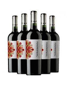 Pack 6 vinos Cabernet Sauvignon, Reserva, Viña Veramonte