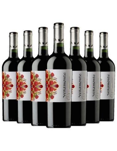 Pack 12 vinos Cabernet Sauvignon, Reserva, Viña Veramonte