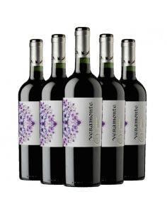 Pack 6 vinos Merlot, Reserva, Viña Veramonte