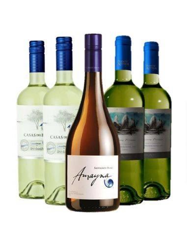 Pack 6 Sauvignon Blanc, 3 Valles, Reserva - Premium