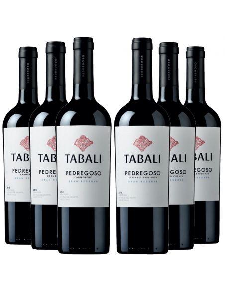 6 botellas Tabali Pedregoso Mix Gran Reserva  Viña Tabali