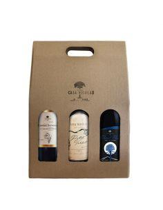Pack 3 Vinos Premium Casa...