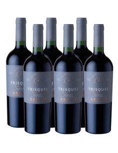 Pack 6 Merlot, Premium, Series Altitud, Trisquel