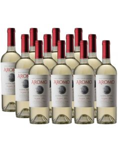 Pack 12 vinos Sauvignon Blanc, Private Reserva, Viña Aromo