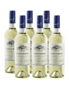 Pack 6 botellas Sauvignon Blanc, Reserva, Viña Casas del Bosque