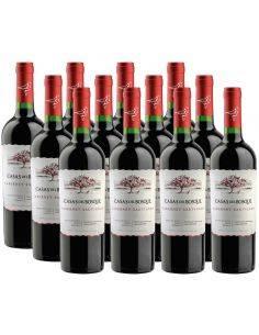 Pack 12 vinos Cabernet Sauvignon, Reserva, Viña Casas del Bosque, Valle de Rapel