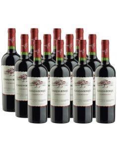 Pack 12 vinos Carmenere, Reserva, Viña Casas del Bosque, Valle de Rapel
