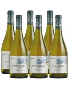 Pack 6 vinos Chardonnay, Gran Reserva, Viña Casas del Bosque, Valle de Rapel