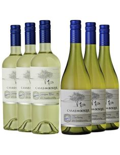 Sauvignon Blanc  y Chardonnay, Reserva, Casas del Bosque, Valle de Casablanca