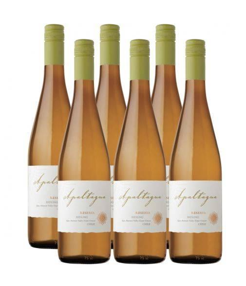 Pack 6 vinos Riesling, Reserva, Viña Apaltagua