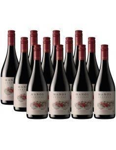 Pack 12 vinos Pinot Noir, Reserva, Manos Andinas, Trasiego Wines