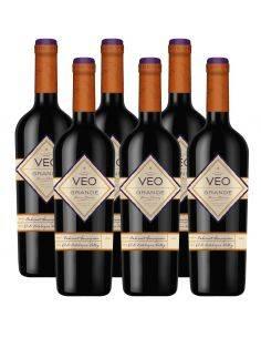 Pack 6 Vinos Cabernet Sauvignon, Reserva, VEO, Viña Errázuriz Ovalle