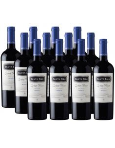 Pack 12 vinos Merlot, Select Terroir, Viña Santa Ema