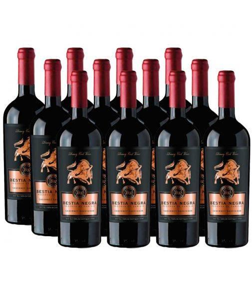 Pack 12 Cabernet Sauvignon, Bestia Negra, Premium, Bestias Wines