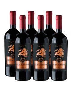 Pack 6 Vinos Carmenere, Bestia Negra, Premium, Bestias Wines