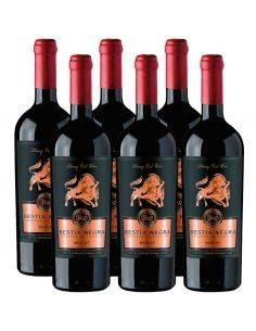 Pack 6 Merlot, Bestia Negra, Premium, Bestias Wines