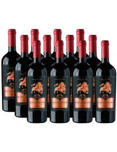 Pack 12 Merlot, Bestia Negra, Premium, Bestias Wines