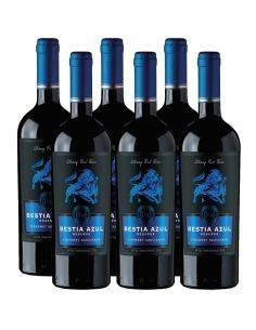 Pack 6 vinos Cabernet Sauvignon, Bestia Azul, Reserva, Bestias Wines