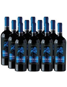 Pack 12 Carmenere, Bestia Azul, Reserva, Bestias Wines
