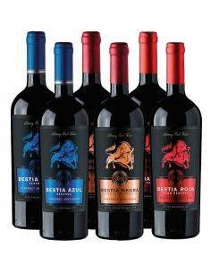 Pack mix 6 Bestias, Cabernet Sauvignon, Bestias Wines
