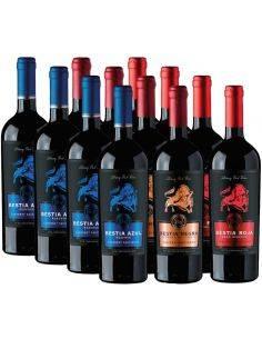 Pack mix 12 Bestias, Cabernet Sauvignon, Bestias Wines