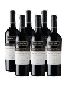 Pack 6 vinos Cabernet Sauvignon, Gran Reserva, Viña Santa Ema