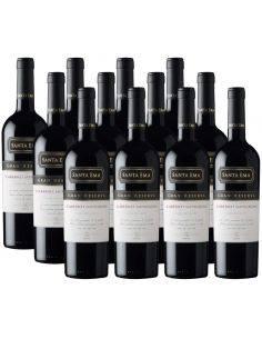 Pack 12 vinos Cabernet Sauvignon, Gran Reserva, Viña Santa Ema