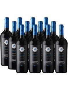 Pack 12 vinos Merlot, Amplus, Premium, Viña Santa Ema