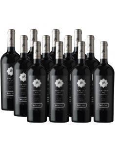 Pack 12 vinos Carmenere, Amplus, Premium, Viña Santa Ema