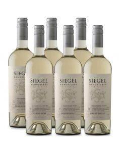 Pack 6 Chardonnay Reserva,Handpicked, Siegel
