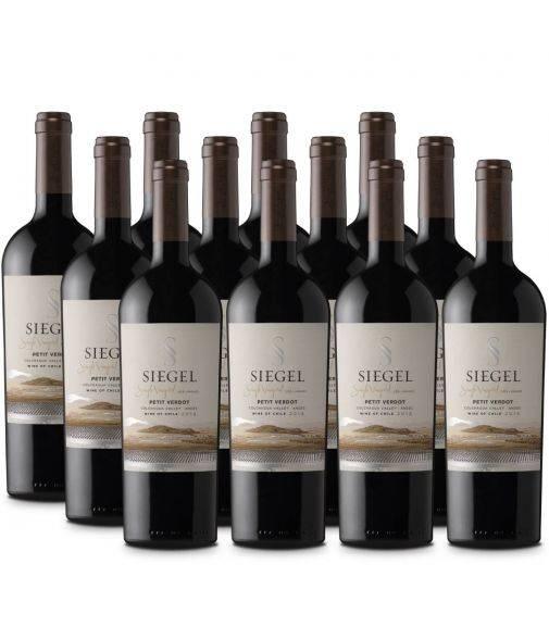 Pack 12 Petit Verdot Premium, Single Vineyard, Siegel