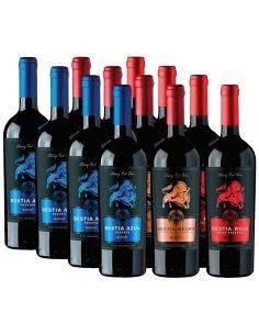 Pack mix 12 Bestias, Merlot, Bestias Wines