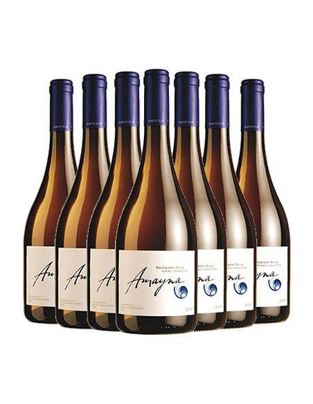 Pack 12 vinos Sauvignon Blanc Barrel Fermented, Viña Garces Silva, Amayna