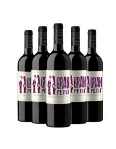 Pack 6 Petit Syrah/Petit Verdot 2016, El Gran Petit, Premium, Viña Morandé