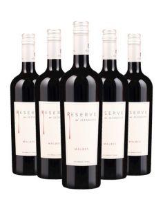 Pack 6 vinos Malbec, Reserva, Viña Altamana, Valle del Maule
