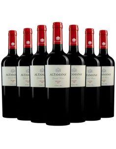 Pack 12 vinos Malbec, Grande Reserve, Viña Altamana, Valle del Maule